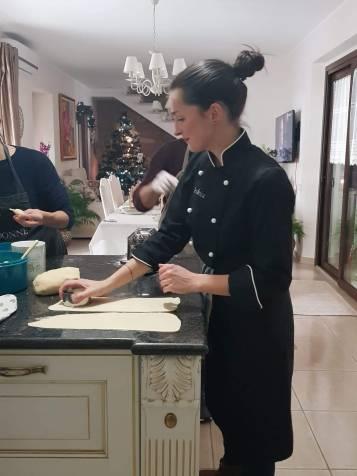 Federica in cucina