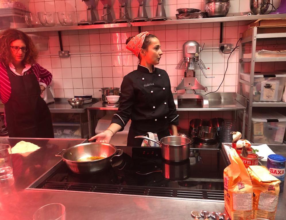 Con Beatrice_Sardina in cucina