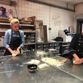 Con Yulia e Marco_Sardina in cucina